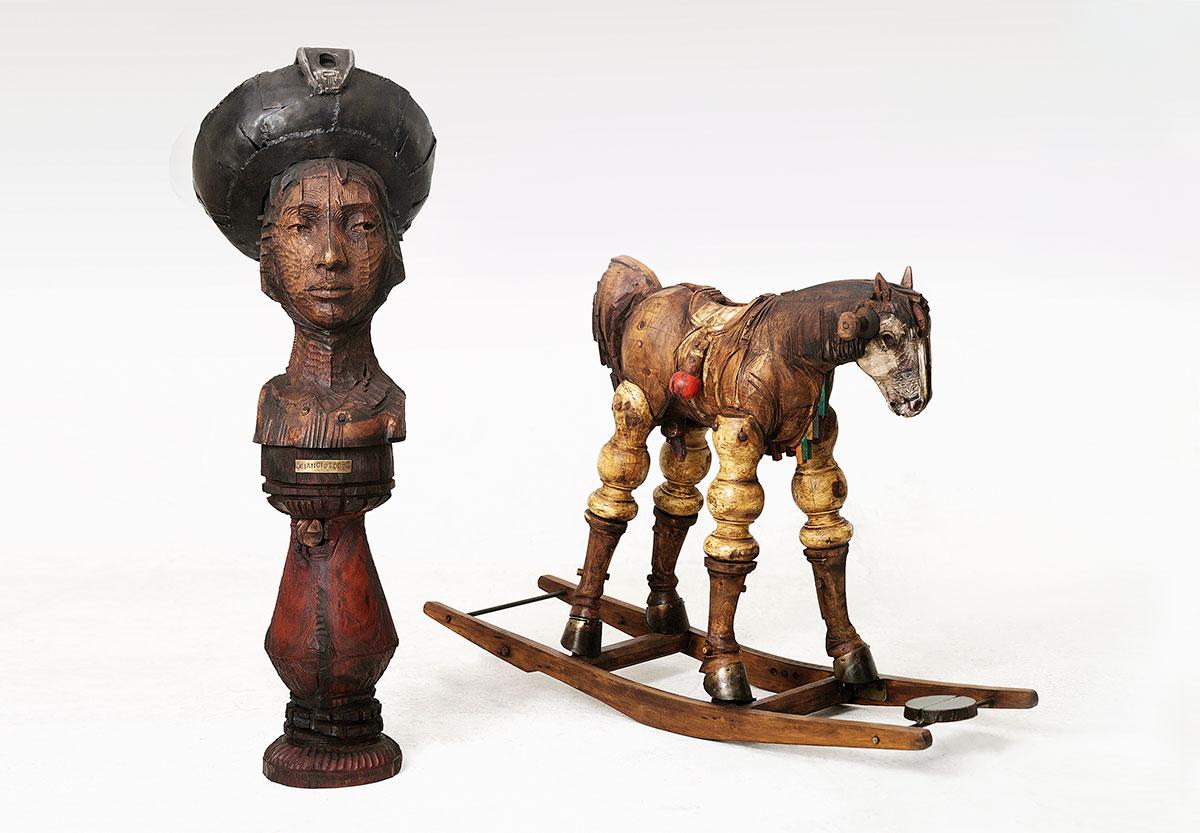 Fotografía de esculturas